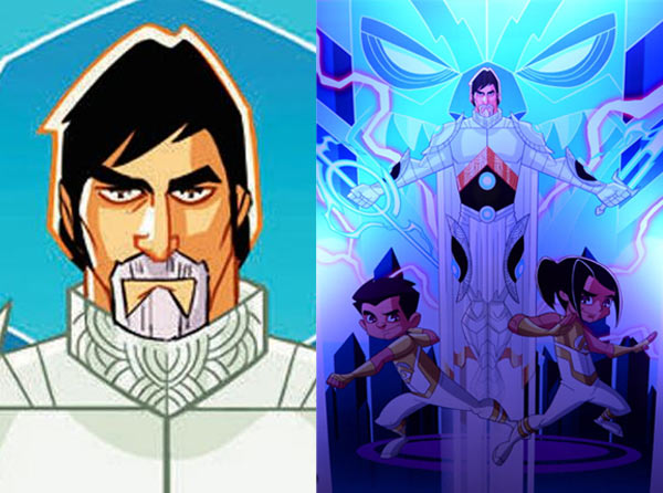 Check out Amitabh Bachchan's cool superhero avatar- view pic!