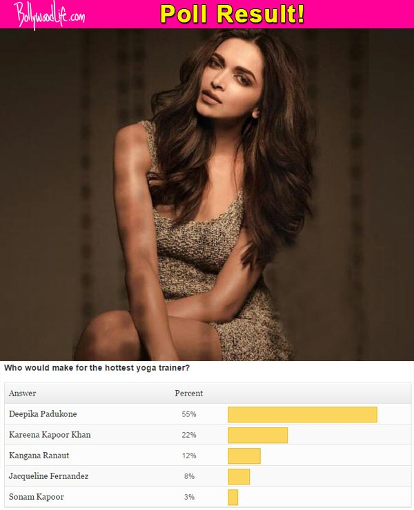 Deepika Padukone and not Kareena Kapoor Khan, is the HOTTEST yoga trainer, say fans!