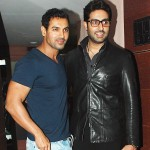 Abhishek Bachchan takes a dig at John Abraham's well sculpted body!