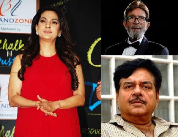 Juhi Chawla to mimic Rajesh Khanna and Shatrughan Sinha in Chalk n Duster