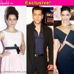 Deepika Padukone VS Kangana Ranaut: Who will star opposite Salman Khan in Sultan?