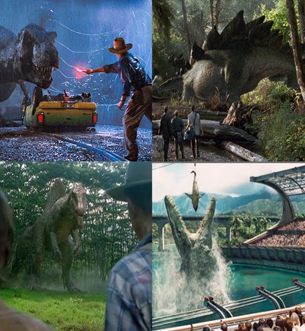 From jurassic park to jurassic world ranking the films from worst to best based on dino power - Film de dinosaure jurassic park ...