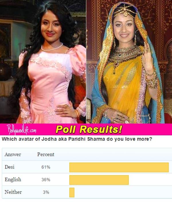 Jodha Akbar: Paridhi Sharma in desi avatar better than her westernized look, think fans!