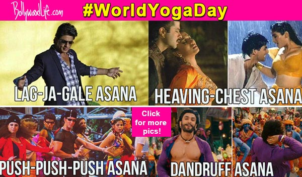 LOL story of the day – When Salman Khan, Shah Rukh Khan invented their own yoga poses!