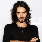 YAY! Russell Brand's landed in India