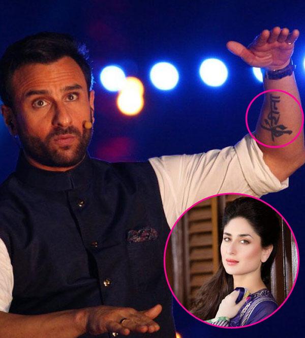 Why Kareena Kapoor Khan will never sport a Saif Ali Khan ...