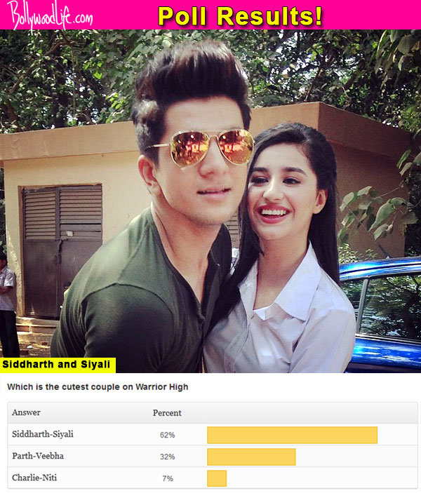 Warrior High: Fans vote Siyali and Siddharth as the cutest couple on the show
