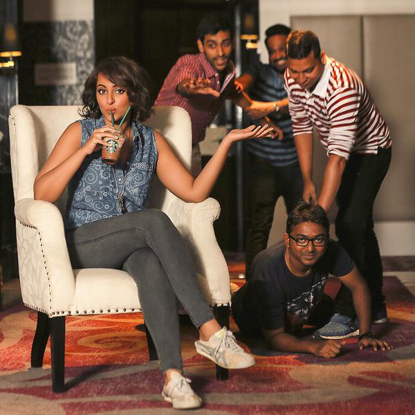 Sonakshi Sinha shares her first sipface – view pic
