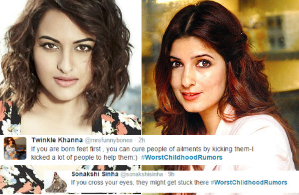Sonakshi Sinha And Twinkle Khanna Reveal Their Worst Childhood Fears