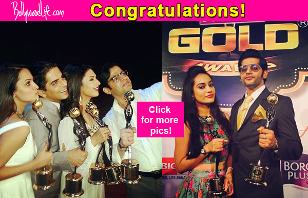 Gold Awards  Winners List Karan Patel Gets Best Actor For Yeh Hai Mohabbatein