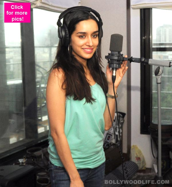 Shraddha Kapoor Records The Unplugged Version Of Bezubaan Phir Se From ABCD 2 View Pics