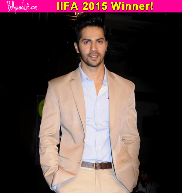 IIFA 2015: Varun Dhawan wins the award for Best Performance In A Comic Role!