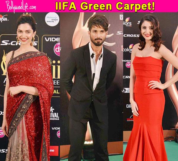 IIFA 2015 Deepika Padukone Shahid Kapoor Anushka Sharma Rule The Green Carpet With