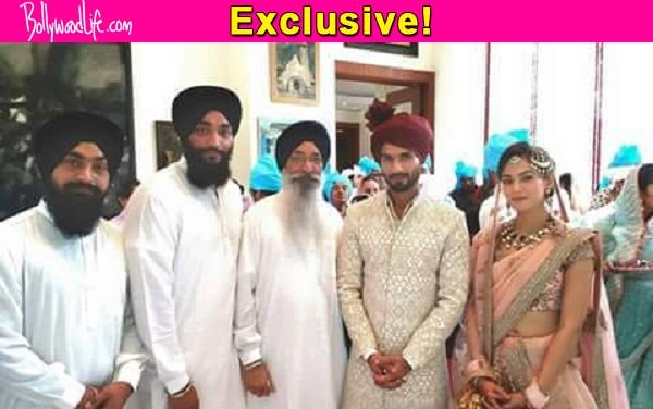 Was It A Sikh Wedding For Shahid Kapoor And Mira Rajput View Pic