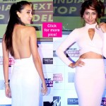 Lisa Haydon and Anusha Dandekar look jaw-dropping HOT at the launch of MTV's India's Next Top Model – view pics!