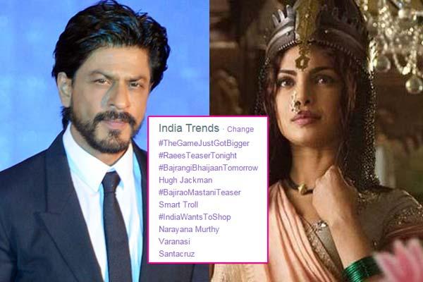 It's Shah Rukh Khan vs Priyanka Chopra on Twitter!