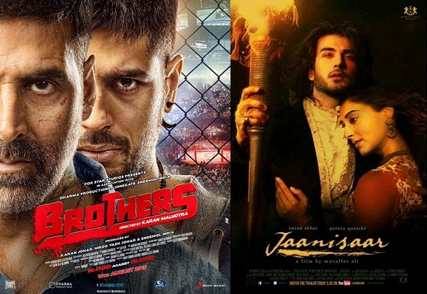 Sidharth Malhotra-Akshay Kumar's Brothers forces Pernia Qureshi-Imran Abbas Naqvi's Jaanisaar to be preponed to August 7!
