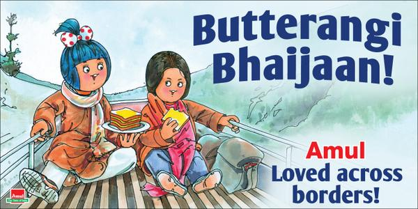 Top 10 Amul's Celebrity Bill Boards and Print Ads - List Dose
