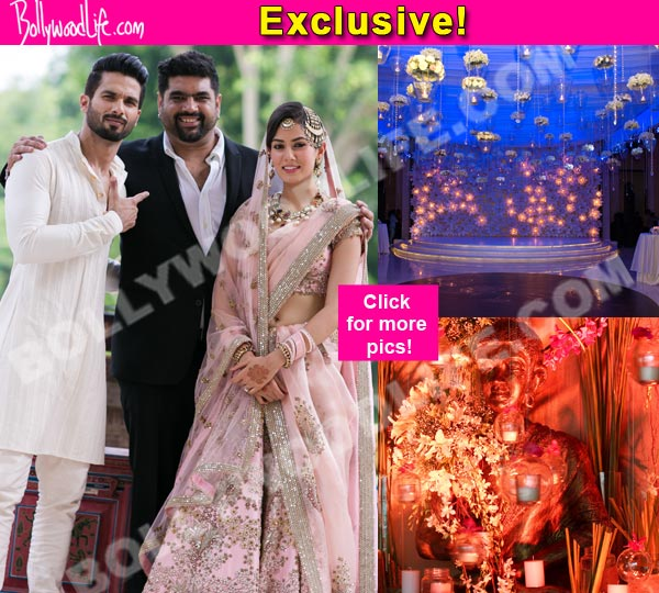 Revealed Unseen Pictures From Shahid Kapoor Mira Rajputs Wedding