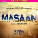 Masaan quick movie review: Richa Chadda and Sanjay Mishra's devastatingly beautiful performances deserve all the awards this year!