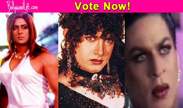 Salman Khan, Shah Rukh Khan or Aamir Khan – which actor is the best in a drag?
