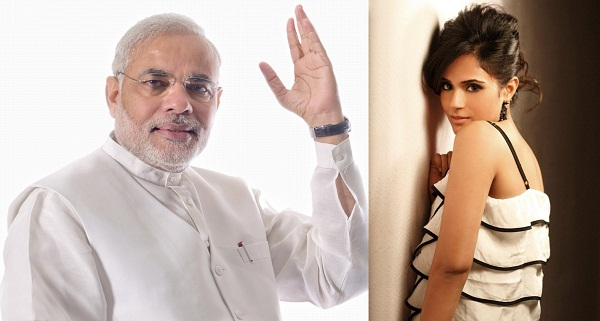 Richa Chadha takes a dig at PM Narendra Modi's 'selfie with daughter' campaign