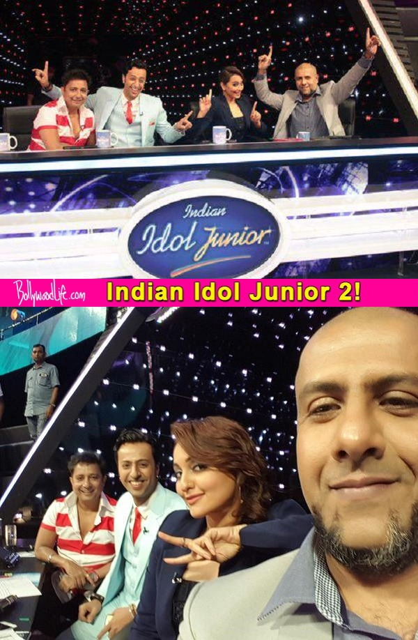 Indian Idol Junior 2 highlights: Sonakshi Sinha welcomes Sukhwinder Singh to the singing reality show!
