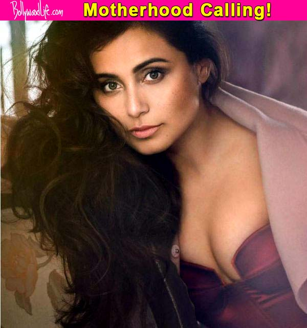 Just In: Rani Mukerji pregnant; expecting her first child!