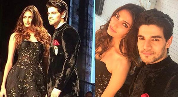 In pics: Hero hotties Sooraj Pancholi and Athiya Shetty walk the ramp for the first time - Hot or not?