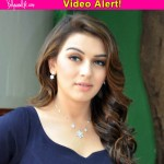 Why is Hansika Motwani feeling embarrassed on her birthday? Watch video!