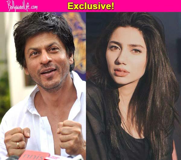 Shah Rukh Khan turns mentor for Mahira Khan!