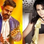 Trisha takes on Kamal Haasan in Thoongavanam!