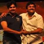 Chiranjeevi 60th birthday: Pawan Kalyan greets elder brother on stage – view pic!