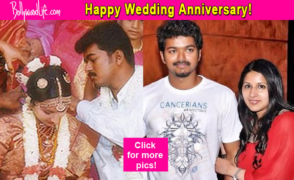 Vijay And Sangeetha Celebrate Their 16th Wedding Anniversary Today