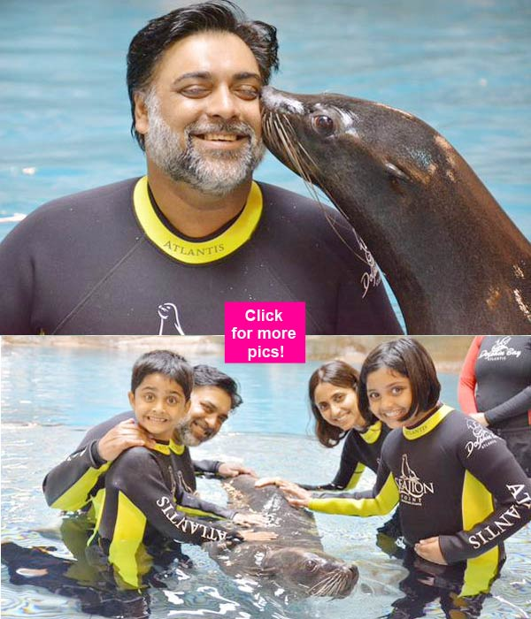 Ram Kapoor and Gautami spotted holidaying in Dubai – view pics!