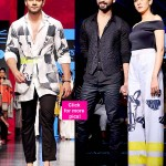 Lakme Fashion Week 2015: Check out Shahid Kapoor, Mira Rajput and Sooraj Pancholi's HQ pics from Masaba's show!