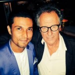 Randeep Hooda shares a fanboy moment with Oscar winning actor Geoffrey Rush on Twitter!