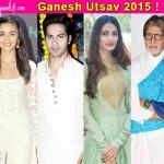 Ganesh Chaturthi 2015: Alia Bhatt, Amitabh Bachchan, Athiya Shetty, Varun Dhawan wish fans!