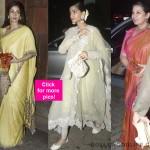 Sonam Kapoor, Sridevi, Shabana Azmi spotted at Anil Kapoor's Ganesh Chaturthi celebrations – view pics!