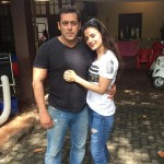 What is Ameesha Patel doing with Salman Khan? View pic