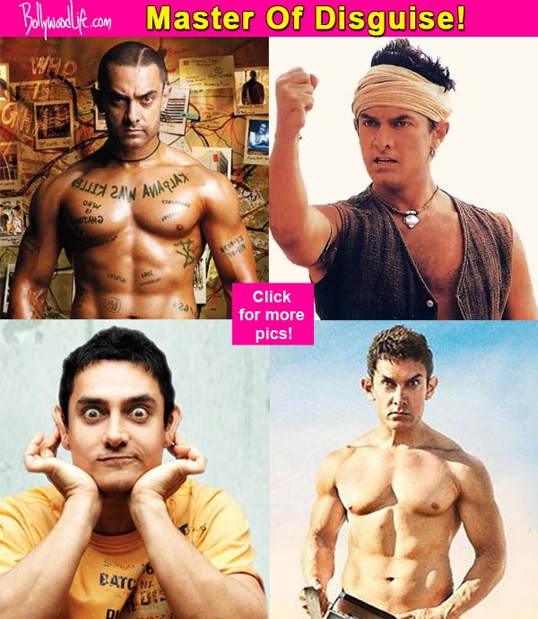 Lagaan Ghajini 3 Idiots Pk 10 Times When Aamir Khan Proved That He Is The Bollywood S Master Of Disguise