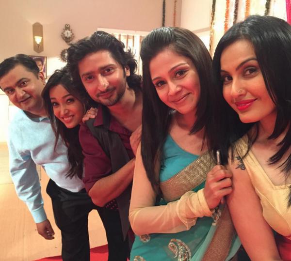 Kunal Karan Kapoor and Mansi Salvi wrap up shoot of Doli Armaano Ki!