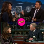 Priyanka Chopra on Jimmy Kimmel or Aishwarya Rai on David Letterman show – which of these Bollywood actress' was more entertaining? Vote!