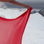 Anushka Sharma shoots for Ae Dil Hai Mushkil in a saree amidst snow clad mountains!