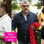 Rajinikanth, Ajith, Vijay, Simbu pay their last respects to late actress Manorama - view pics!