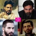 Shah Rukh Khan, Hrithik Roshan, Fawad Khan, Akshay Kumar, Shahid Kapoor - Who rocks the beard? Vote!