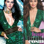 Alia Bhatt or Kendall Jenner - who works the plunging neckline best?