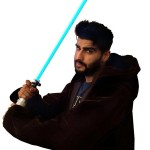 Arjun Kapoor turns Jedi to promote Stars Wars: The Force Awakens!