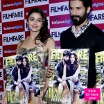 Shahid Kapoor and Alia Bhatt look unbelievably Shaandaar together at the cover launch of a popular glossy! View HQ pics!