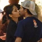 Slumdog Millionaire actress Freida Pinto spotted kissing her new boyfriend!